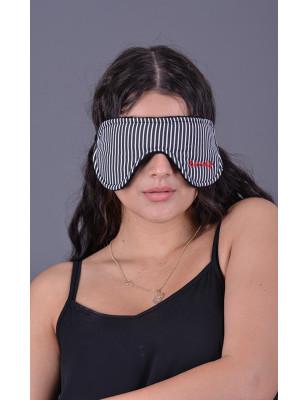 Brýle na spaní černé proužky