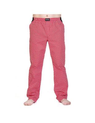 Pánské kalhoty - červené se...