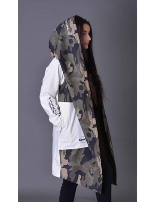 Emes army bílá bunda