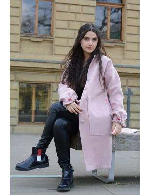 Kabát Old Pink