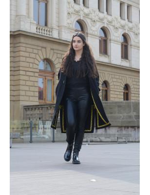 Kabát Black-Yellow