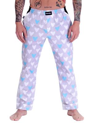 Pánské kalhoty - blue heart