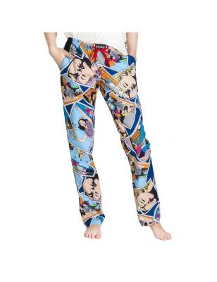 Dámské kalhoty - komixové -...