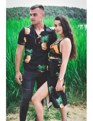 Panská E.Pólo košile ananas