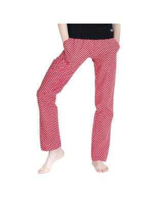 Dámské kalhoty -   červené...