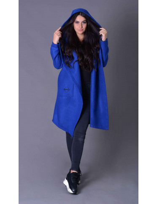 Emes modrá bunda